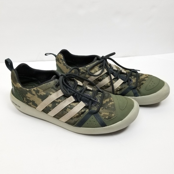 Adidas Climacool Boat Lace Camo Shoes 12
